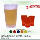 Copo Cancun 320 ml cristal